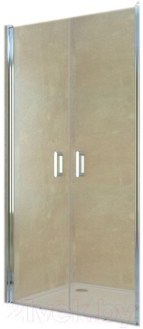 Купить Душевая дверь RGW, LE-06 Easy / 06120608-11 (хром/прозрачное стекло), Германия