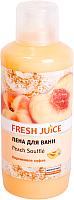 Пена для ванны Fresh Juice Персиковое суфле (1л) -