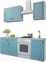 Готовая кухня ДСВ Гранд 1.5 (зеленый) -