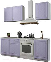 Готовая кухня ДСВ Гранд 1.5 (фиалка) -
