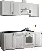Готовая кухня ДСВ Гранд 2.1 (белый) -