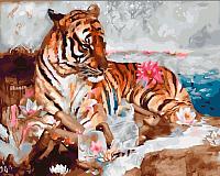 Картина по номерам Picasso Во власти тигра (PC4050422) -