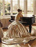 Картина по номерам Picasso Девушка у рояля (PC4050434) -