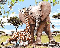 Картина по номерам Picasso Лучшие друзья (PC4050438) -