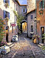 Картина по номерам Picasso Итальянские улочки (PC4050442) -