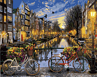 Картина по номерам Picasso Ночной Амстердам (PC4050446) -
