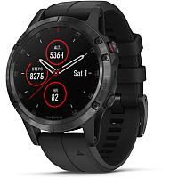 Умные часы Garmin Fenix 5 Plus Sapphire / 010-01988-01 (черный) -