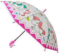 Зонт-трость Ausini VT18-21041 (розовый) -