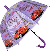Зонт-трость Ausini VT18-11077 (фиолетовый) -