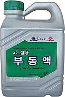 Антифриз Hyundai/KIA Long Life Coolant / 0710000400 (4л, зеленый) -