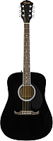 Акустическая гитара Fender FA-125 Dreadnought Black NRW -