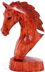 Статуэтка Мир Ротанга Голова лошади (20см)