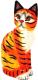 Статуэтка Мир Ротанга Желтый кот -