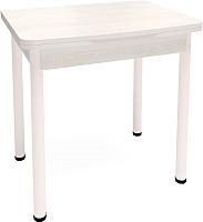 Обеденный стол Millwood Алтай-04 (сосна белая Loft/металл белый) -