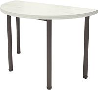 Обеденный стол Millwood Далис 1 (дуб белый Craft/металл черный) -