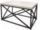 Журнальный столик Millwood Neo Loft CT-1/L (дуб белый Craft/металл черный) -
