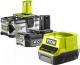 Набор аккумуляторов для электроинструмента Ryobi RC18120-242 One+ (5133003365) -