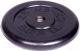 Диск для штанги MB Barbell d31мм 2.5кг (черный) -