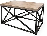 Журнальный столик Millwood Neo Loft CT-1 Л (дуб табачный Craft/металл черный) -