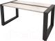 Журнальный столик Millwood Neo Loft CT-2/L (дуб белый Craft/металл черный) -