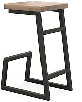 Табурет барный Millwood Арне/L СДН-6 (дуб табачный Craft/металл черный) -