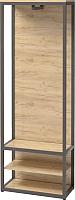 Вешалка для одежды Millwood Neo Loft ML-1/L (дуб золотой Craft/металл черный) -