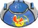 Тюбинг-ватрушка Ника ТБ1КР-95 1050мм (лисенок, голубой/серый) -