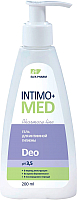 Гель для интимной гигиены Elfa Pharm Intimo+ Med Deo (200мл) -