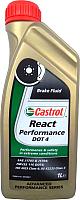 Тормозная жидкость Castrol DOT 4 React Performance / 157F8B (1л) -