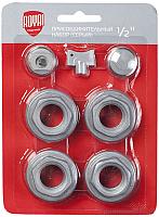 Монтажный комплект для радиатора Royal Thermo Присоединительный набор 1/2'' (серебристый) -