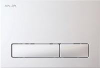 Кнопка для инсталляции AM.PM I014101 (белый) -