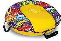 Тюбинг-ватрушка Тяни-Толкай 1000мм Graffiti Comfort (оксфорд, Норм) -