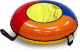 Тюбинг-ватрушка Тяни-Толкай 730мм Бюджет (тент, Норм) -