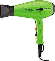 Профессиональный фен Kapous Tornado 2500 (зеленый) -