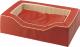 Лежанка для животных Ferplast Majestic 125 / 81028022 (красный) -