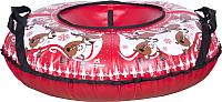 Тюбинг-ватрушка Тяни-Толкай 830мм Новогодний олень (тент, Норм) -