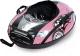 Тюбинг-ватрушка Тяни-Толкай Машинка Comfort (розовый, Норм) -