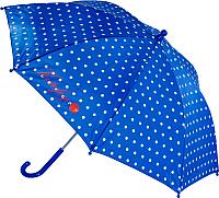 Зонт-трость Котофей 03807022-10 (синий) -