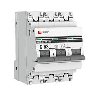 Выключатель автоматический EKF ВА 47-63 3Р 13А (C) -