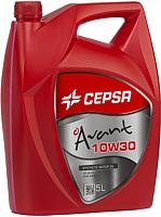 Моторное масло Cepsa Avant Synt 10W30 / 512623073 (5л) -