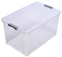 Контейнер для хранения Алеана Smart Box 123084 (серый/прозрачный) -
