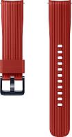 Ремешок для умных часов Samsung Galaxy Watch / ET-YSU81MREGRU (красный) -
