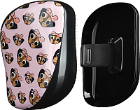 Расческа Tangle Teezer Compact Pug Love -