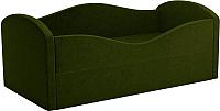 Кровать-тахта Mebelico Сказка 8 / 59530 (вельвет, зеленый) -