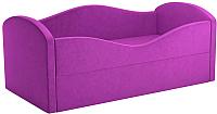 Кровать-тахта Mebelico Сказка 8 / 59537 (вельвет, фиолетовый) -
