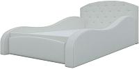 Кровать-тахта Mebelico Майя 10 / 58218 (экокожа, белый) -