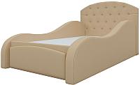 Кровать-тахта Mebelico Майя 10 / 58227 (экокожа, бежевый) -