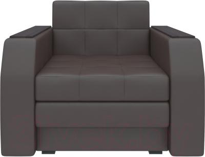 Кресло-кровать Mebelico Атланта 13 / 58738 (экокожа, коричневый)