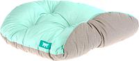 Лежанка для животных Ferplast Relax 55/4 / 82055095 (бирюзовый/серый) -