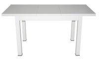 Обеденный стол Eligard One / СОО раздвижной (белый матовый) -